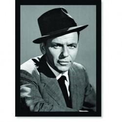 Quadro Poster Grandes Nomes da Música Frank Sinatra 2