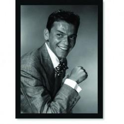 Quadro Poster Grandes Nomes da Música Frank Sinatra 3