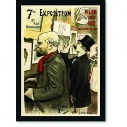 Quadro Poster The Belle Epoque Exposition
