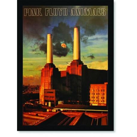 Quadro Poster Musica Bandas Pink Floyd Animals 1