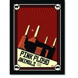 Quadro Poster Musica Bandas Pink Floyd Animals 2