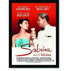 Quadro Poster Cinema Filme Sabrina