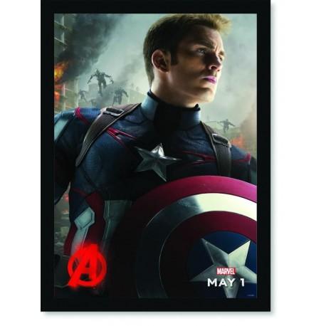 Quadro Poster Cinema Filme Vingadores 1