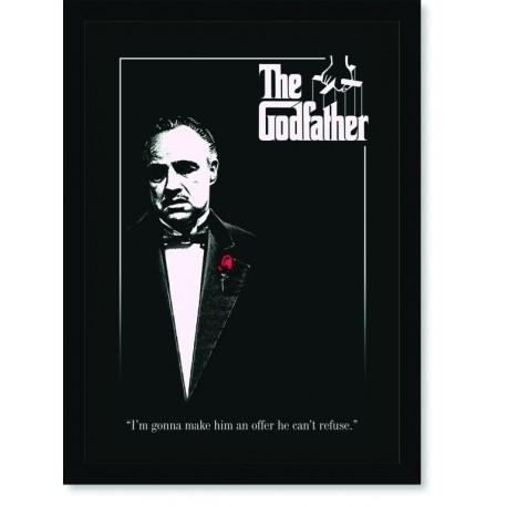 Quadro Poster Cinema Filme The Godfather