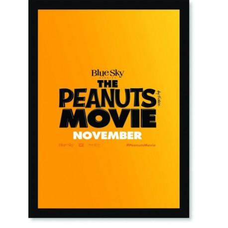 Quadro Poster Cinema Filme The Peanuts Movie 5
