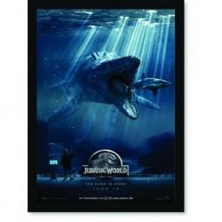 Quadro Poster Cinema Filme Jurassic Park Jurassic World 1