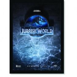 Quadro Poster Cinema Filme Jurassic Park Jurassic World 2