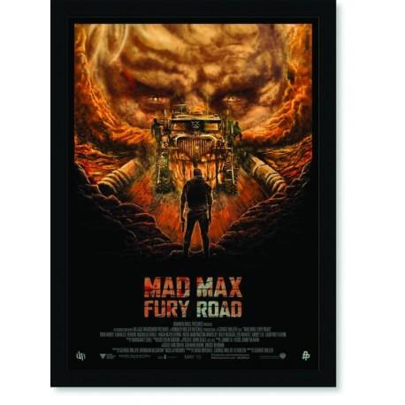 Quadro Poster Cinema Mad Max Fury Road 4
