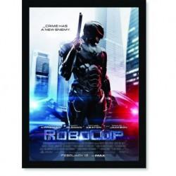 Quadro Poster Cinema Robocop 4