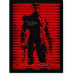 Quadro Poster Cinema Robocop 5