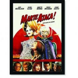 Quadro Poster Cinema Filme Marte Ataca