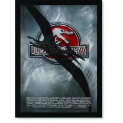 Quadro Poster Cinema Filme Jurassic Park 3
