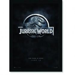 Quadro Poster Cinema Filme Jurassic Park Jurassic World