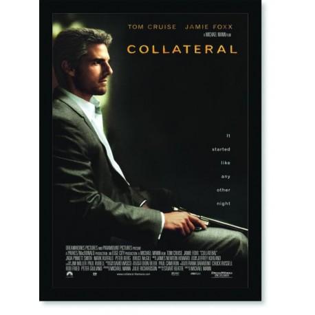 Quadro Poster Cinema Filme Collateral