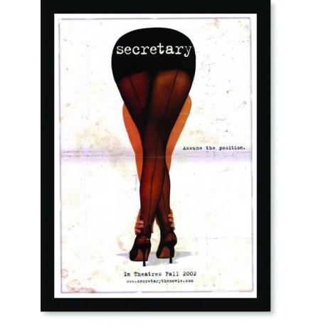 Quadro Poster Cinema Filme Secretary