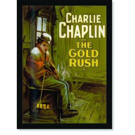 Quadro Poster Cinema Filme The Gold Rush