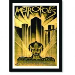 Quadro Poster Cinema Filme Metropolis
