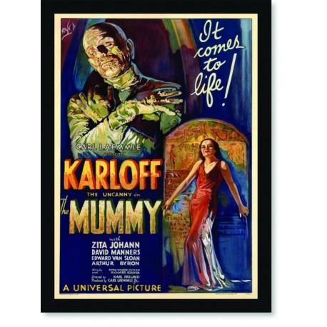 Quadro Poster Cinema Filme Mummy