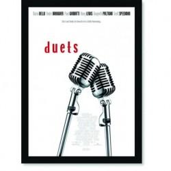 Quadro Poster Cinema Filme Duets