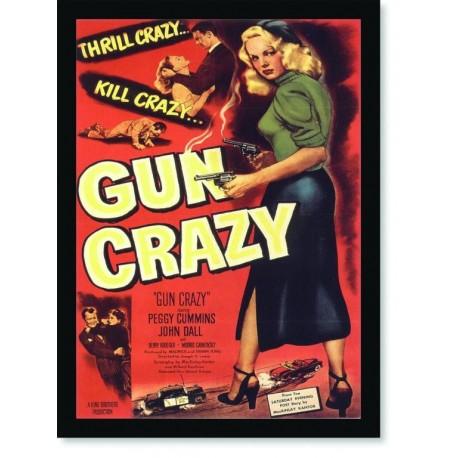 Quadro Poster Cinema Filme Gun Crazy