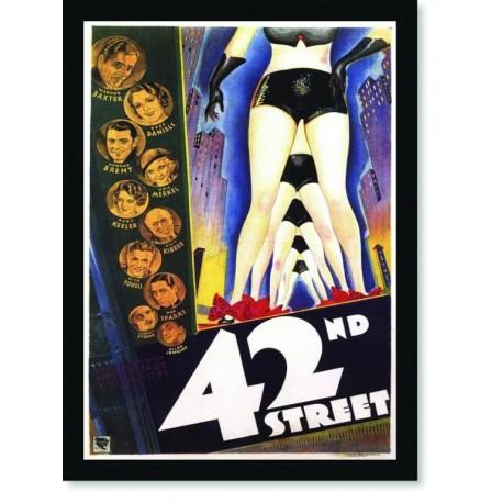 Quadro Poster Cinema Filme 42 Street