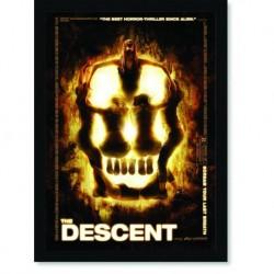 Quadro Poster Cinema Filme Descent