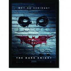 Quadro Poster Cinema Filme The Dark Knight 3
