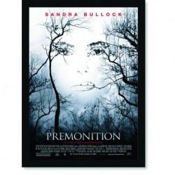 Quadro Poster Cinema Filme Premonition