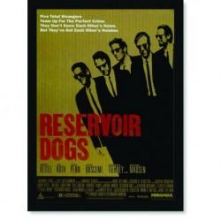 Quadro Poster Cinema Filme Reservoir Dogs
