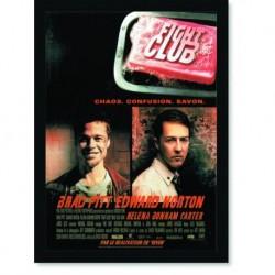Quadro Poster Cinema Filme Fight Club