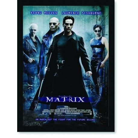 Quadro Poster Cinema Filme Matrix