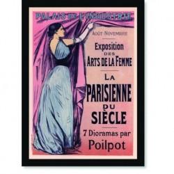 Quadro Poster The Belle Epoque Parisienne Siecle