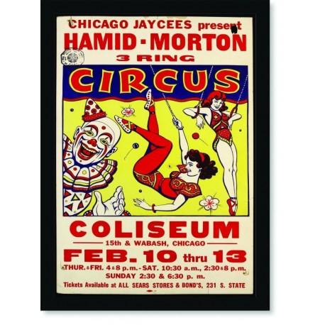 Quadro Poster Cinema Hamid Morton Circus