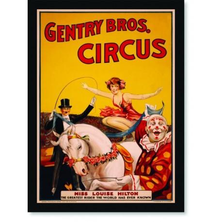 Quadro Poster Cinema Miss Louise Hilton