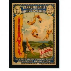 Quadro Poster Cinema Silbons Circus