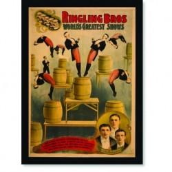 Quadro Poster Cinema Ringling Bross Circus