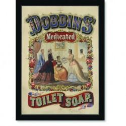 Quadro Poster Propaganda Dobbins Medicated