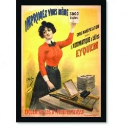 Quadro Poster Propaganda Eyquem Imprimez