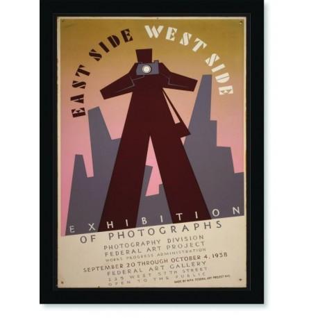 Quadro Poster Propaganda East Side West Side