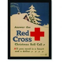 Quadro Poster Propaganda Red Cross