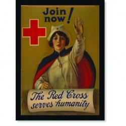 Quadro Poster Propaganda The Red Cross