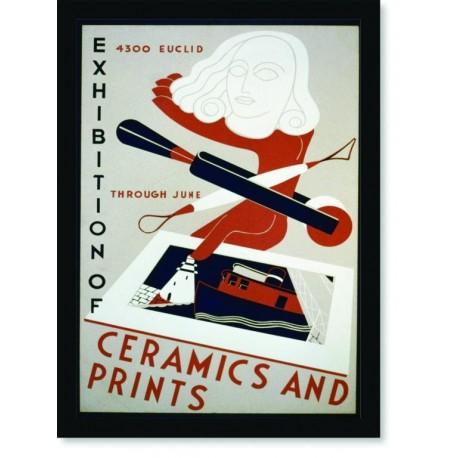 Quadro Poster Propaganda Ceramics And Prints