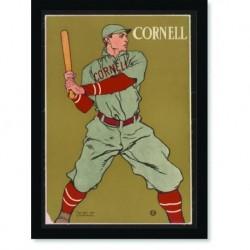Quadro Poster Esportes Cornell Baseball
