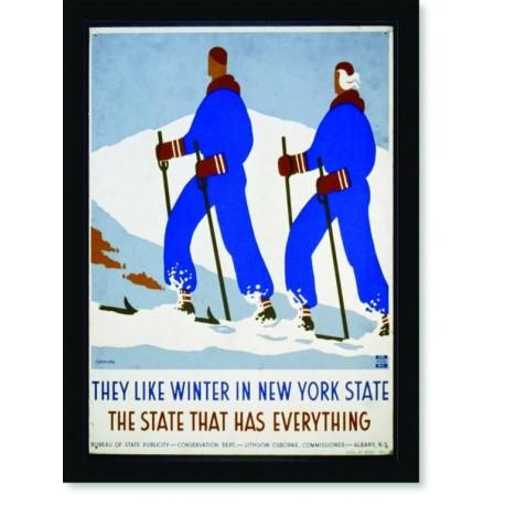 Quadro Poster Esportes The State That Has Sky