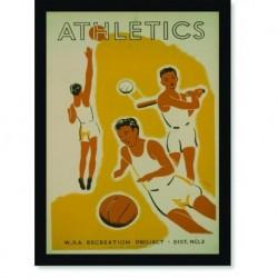 Quadro Poster Esportes Athletics WPA