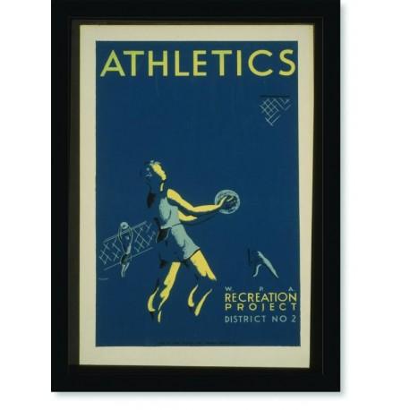 Quadro Poster Esportes Athletics WPA 2