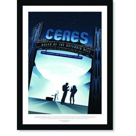 Quadro Poster Nasa Ceres