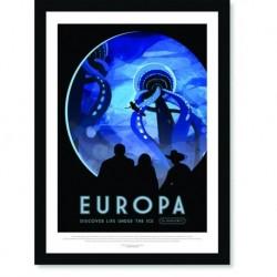 Quadro Poster Nasa Europa