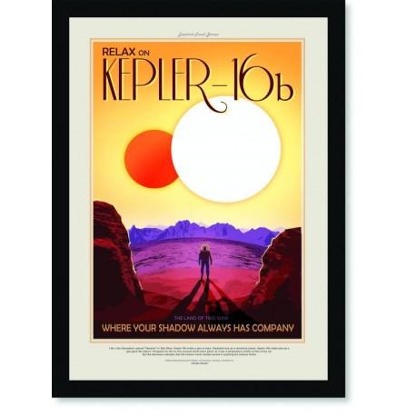 Quadro Poster Nasa Kepler 16B