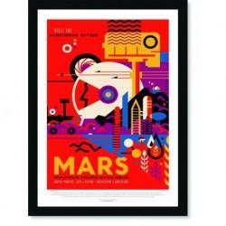 Quadro Poster Nasa Mars